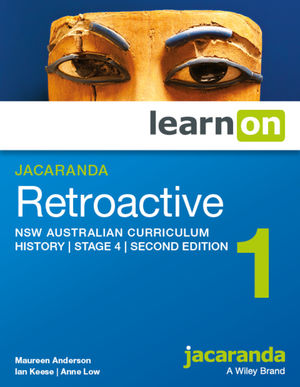 Jacaranda Retroactive 1 Stage 4 NSW Australian curriculum 2e learnON (Online Purchase)