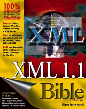 XML 1.1 Bible, 3rd Edition (0764549863) cover image