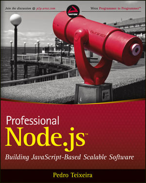 Professional Node.js: Building Javascript Based Scalable Software (1118185463) cover image