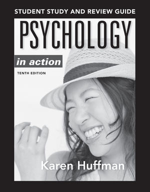 Psychology in Action Study Guide, 10th Edition (1118289463) cover image