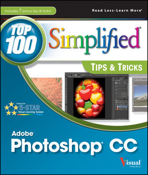Photoshop CC Top 100 Simplified Tips and Tricks (1118643763) cover image