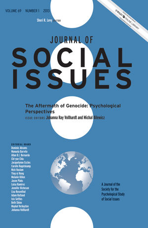 The Aftermath of Genocide: Psychological Perspectives