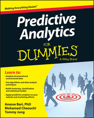 Predictive Analytics For Dummies (1118728963) cover image