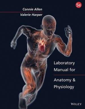 Laboratory Manual for Anatomy and Physiology 5e Binder Ready Version with PowerPhys 3.0 Password Card Set (1118894863) cover image