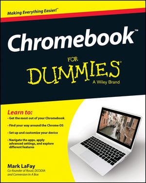 Chromebook For Dummies (1118951263) cover image