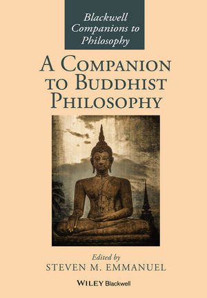 A Companion to Buddhist Philosophy (1119144663) cover image