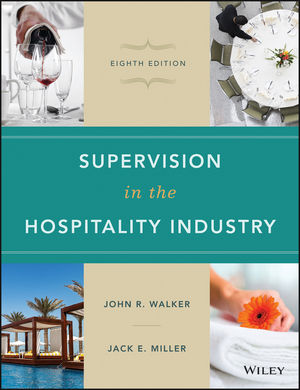 Supervision in the Hospitality Industry, 8th Edition (1119191963) cover image