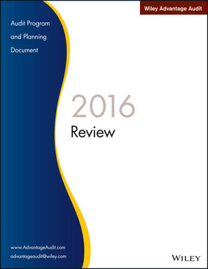 Wiley Advantage Audit 2016 - Review
