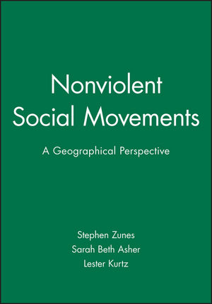Nonviolent Social Movements: A Geographical Perspective (1577180763) cover image