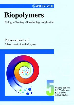 Biopolymers, Biology, <span class='search-highlight'>Chemistry</span>, Biotechnology, Applications, Volume 5, Polysaccharides I: Polysaccharides from Prokaryotes
