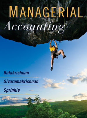 Managerial Accounting, 1st Edition (EHEP000463) cover image