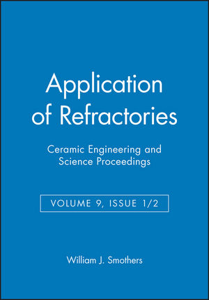 Application of Refractories, Volume 9, Issue 1/2