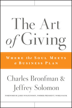 The Art of Giving: Where the Soul Meets a Business Plan (0470501464) cover image