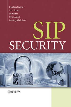 SIP Security (0470516364) cover image
