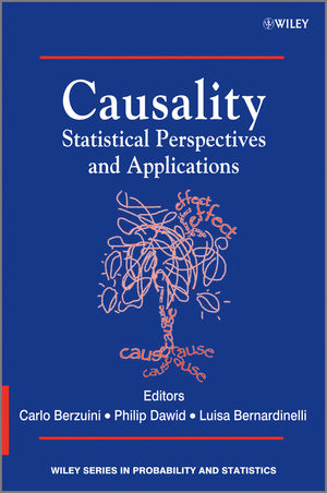 Causality: Statistical Perspectives and Applications (0470665564) cover image