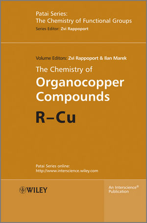 The Chemistry of Organocopper Compounds  (0470772964) cover image