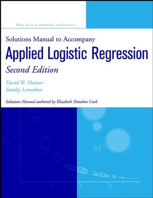 Solutions Manual to accompany Applied Logistic Regression, 2nd Edition