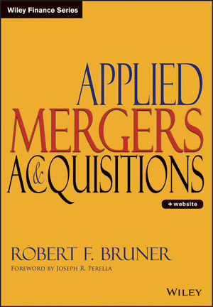 Applied Mergers and Acquisitions (0471395064) cover image