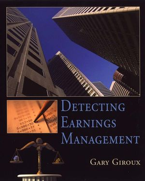 Detecting Earnings Management (0471470864) cover image