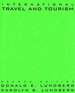 International Travel and Tourism, 2nd Edition (0471531464) cover image