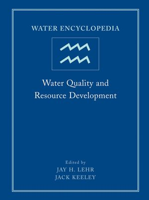Water Encyclopedia, Volume 2, Water Quality and Resource Development (0471736864) cover image