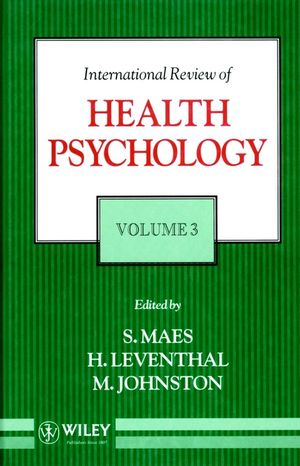International Review of Health Psychology, Volume 3