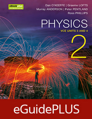 Physics 2 VCE Units 3 and 4 eGuidePLUS (Online Purchase)