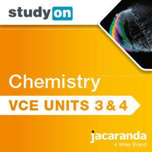 StudyOn VCE Chemistry Units 3 & 4 3E (Online Purchase)