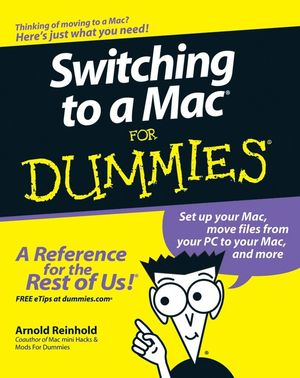 Switching to a Mac For Dummies (1118051564) cover image