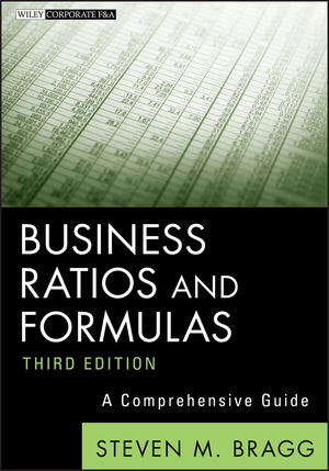 Business Ratios and Formulas: A Comprehensive Guide, 3rd Edition (1118169964) cover image