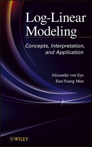 Log-Linear Modeling: Concepts, Interpretation, and Application (1118391764) cover image