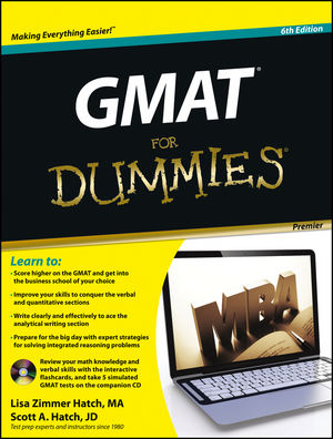GMAT For Dummies, Premier 6th Edition