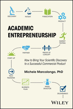 Academic Entrepreneurship: How to Bring Your Scientific Discovery to a Successful Commercial Product (1118858964) cover image