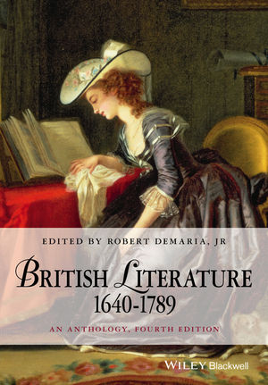 British Literature 1640-1789: An Anthology, 4th Edition (1118952464) cover image