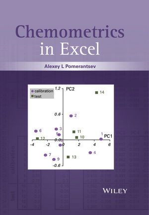 Chemometrics in Excel (1119027764) cover image