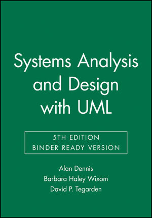 Systems Analysis and Design with UML, 5th Edition Binder Ready Version (1119138264) cover image