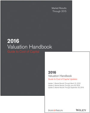 2016 Valuation Handbook - Guide to Cost of Capital + Quarterly PDF Updates (Set)