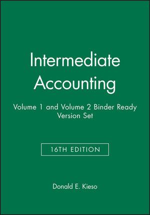 Intermediate Accounting, 16e Volume 1 and Volume 2 Binder Ready Version Set