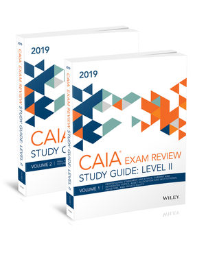 Wiley Study Guide for 2019 Level II CAIA Exam: Complete Set (print)
