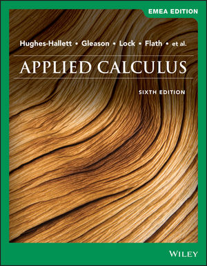 Applied Calculus, 6th Edition, EMEA Edition