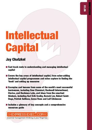 Intellectual Capital: Innovation 01.06 (1841122564) cover image