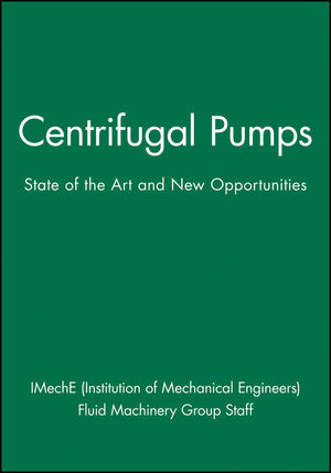 Centrifugal Pumps: State of the Art and New Opportunities (1860584764) cover image