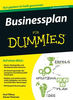 Businessplan für Dummies, 5. Auflage