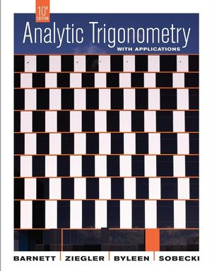 Analytic Trigonometry with Applications, 10th Edition (EHEP001964) cover image