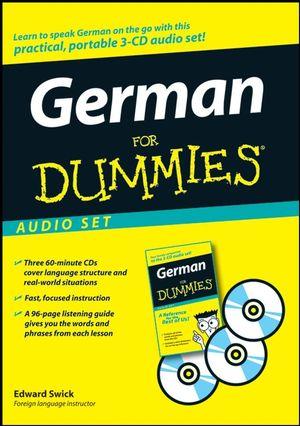 German For Dummies Audio Set