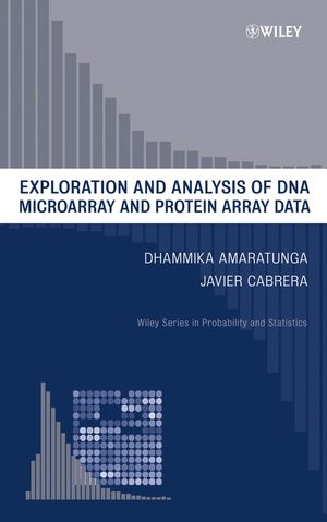 Exploration and Analysis of DNA Microarray and Protein Array Data (0470317965) cover image