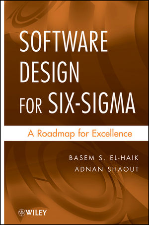 Software Design for Six Sigma: A Roadmap for Excellence (0470405465) cover image