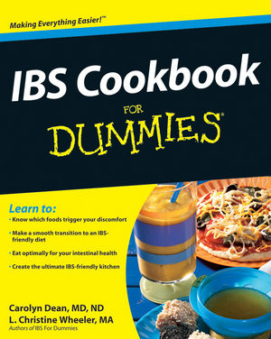 IBS Cookbook For Dummies (0470589965) cover image