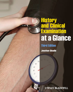 History and Clinical Examination at a Glance, 3rd Edition (0470654465) cover image