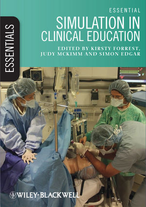Essential Simulation in Clinical Education (0470671165) cover image